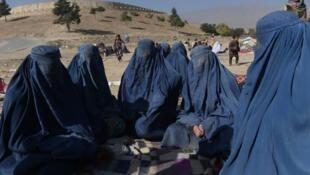 برقع به سبک افغان چندان در مراکش رایج نیست