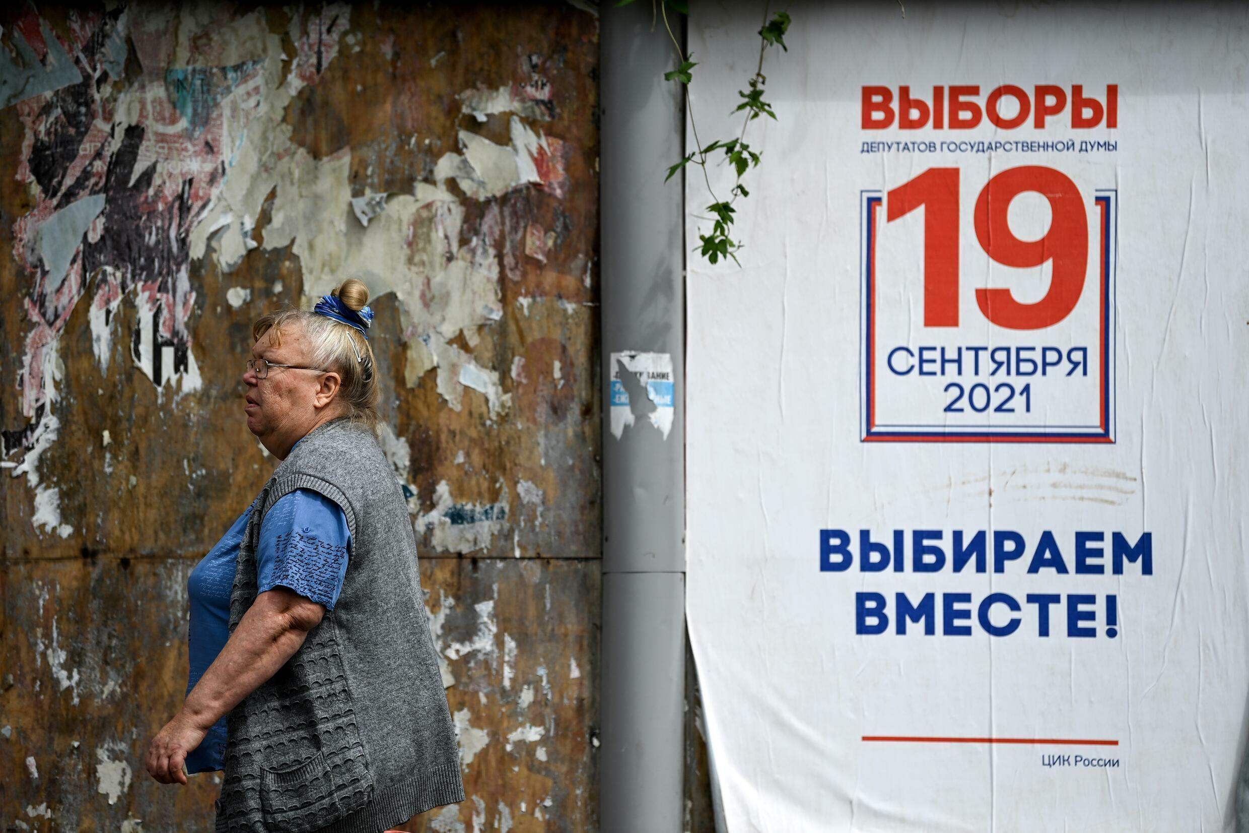 President Putin's United Russia party is widely expected to win this weekend's elections