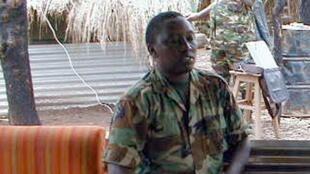 Shugaban hukumar leken asirin  Rwanda, Emmnuel Karenzi Karake.