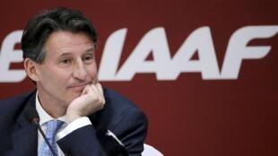 Sebastian Coe took over as IAAF head in August.