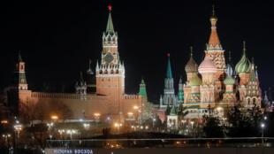 Le Kremlin, à Moscou.