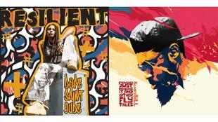 Les albums de Dope Saint Jude «Resilient» et de Blinky Bill «Everyone's Just Winging It and Other Fly Tales».