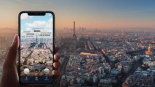 Magnicity, une application de réalité augmentée pour découvrir Paris autrement.