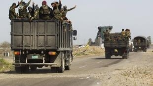 Binh sĩ Irak tại Tikrit, ngày 31/03/2015.