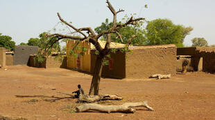 A village in the Mopti region, central Mali.
