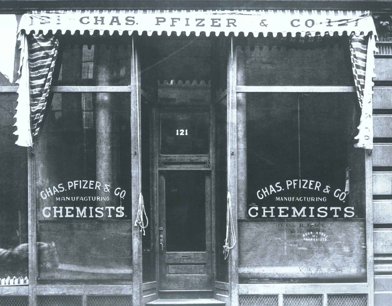 pfizer chemists