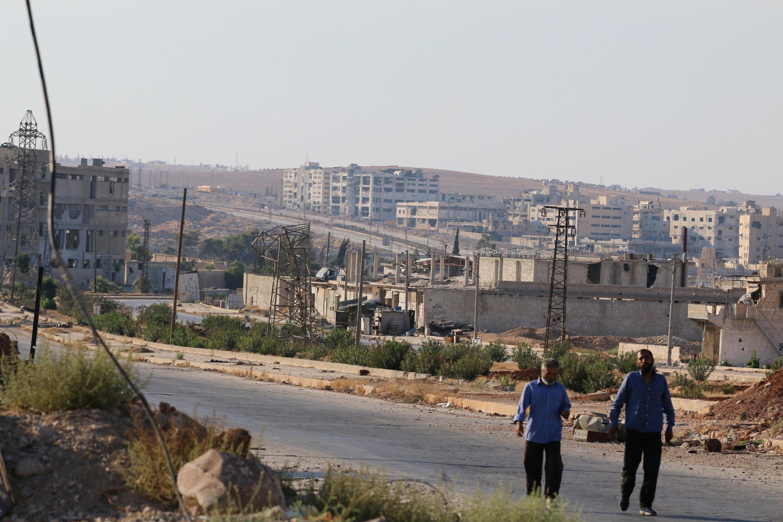 Trục đường Castello, phía bắc Alep.
