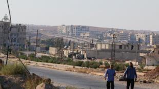 叙利亚北部城市阿勒颇