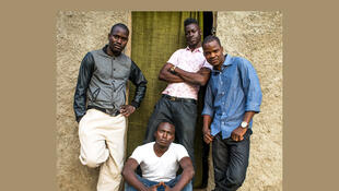 Le groupe malien Songhoy Blues.