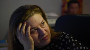 法国新观察家周刊驻京记者高洁,12月28日在北京的寓所。