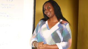 Assumpta Mugiraneza a co-fondé et dirige le centre Iriba pour le patrimoine multimédia.