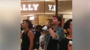 香港民建聯立法會議員蔣麗芸推特截圖