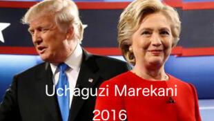 Eleições gerais americanas, nomeadamente presidenciais, entre Trump e Hillary, esta terça-feira, 8 de novembro de 2016