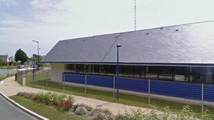 La gendarmerie de Carnac, près de Quiberon, en Bretagne.