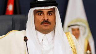 Sarkin Qatar Sheikh Tamin bin Hamad Al-Thani