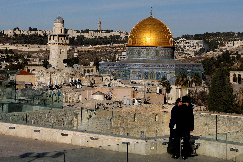 Khu phố cổ Jerusalem. Ảnh ngày 04/12/2017