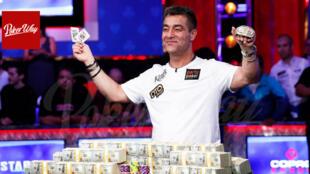 حسین انسان، پوکرباز ایرانی برنده جایزه 10 میلیون دلاری مسابقات پوکر
