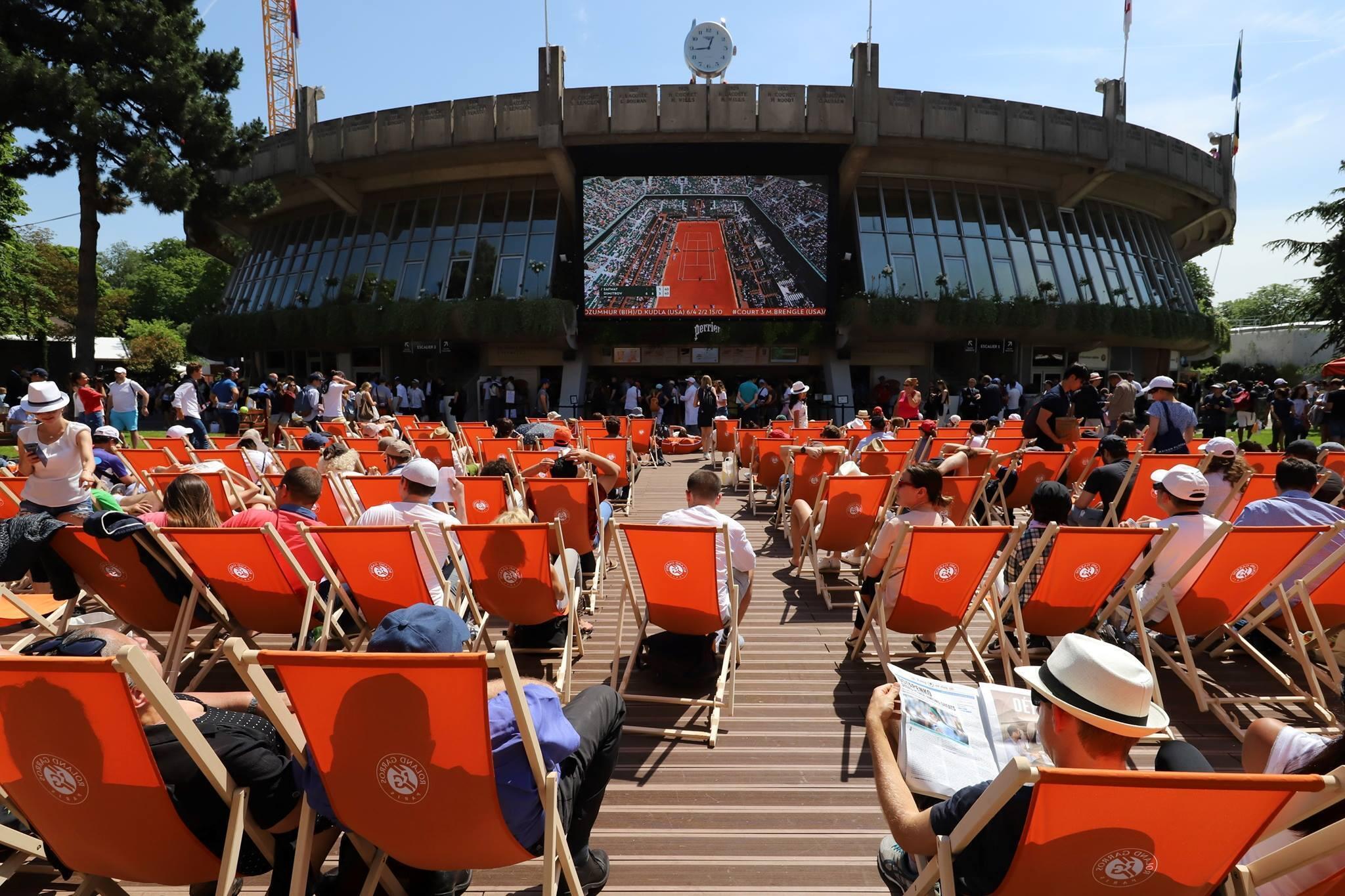 Открытый чемпионат Франции потеннису пройдет в Париже с 20 мая по 9 июня
