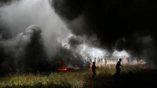 Três palestinos foram mortos e cerca de 250 ficaram feridos nesta sexta-feira por tiros de soldados israelenses durante confrontos na fronteira entre o Estado judeu e a Faixa de Gaza, informou o ministério da Saúde em Gaza.