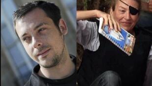 'Yan Jaridun kasashen Yammaci masu aikin a Syria wadanda aka kashe Remi Ochlik mai daukar hoto da  Marie Colvin