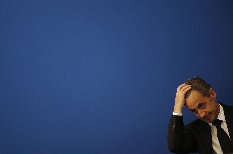 O ex-presidente francês Nicolas Sarkozy em 10/03/2014 .