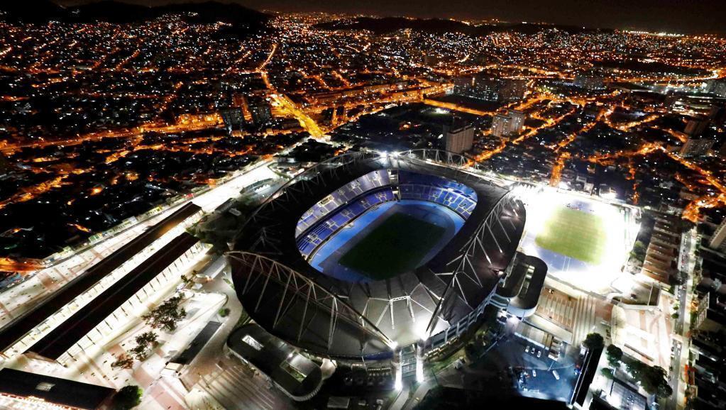Stade olympique de Rio de Janeiro.