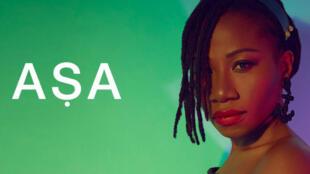 L'artiste chanteuse nigériane ASA.