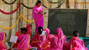 Phụ nữ Ấn Độ trong một làng quê. Ảnh minh họa.