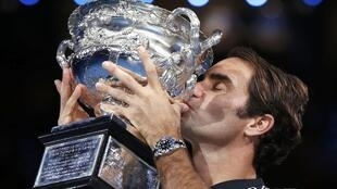 Roger Federer won his 5th Australian Open in Melbourne in 2017.