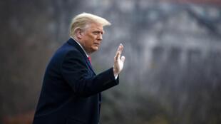 El presidente estadounidense Donald Trump el 12 de diciembre de 2020 en Washington