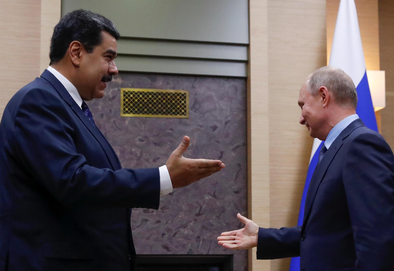 Николас Мадуро и Владимир Путин, Москва, 5 декабря 2018 г.