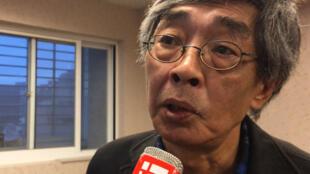 Le libraire hongkongais Lam Wing-kee a trouvé refuge à Taiwan au printemps dernier.