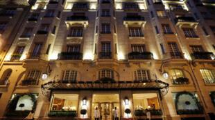 Парижский отель «Бристоль», где Перепиличный останавливался за несколько дней до своей смерти.