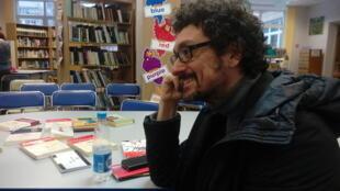 Писатель Давид Фонкинос в Минске