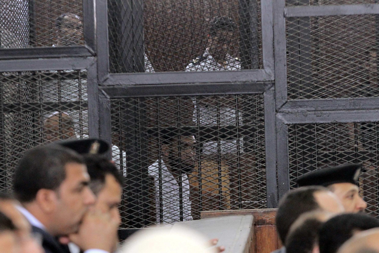 Судебное заседание в Каире 18/06/2014