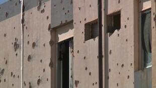 La ville de Bani Walid en Libye garde les traces des affrontements de ces derniers jours.
