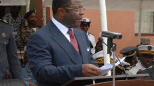 Former defense minister Edgar Alain Mebe Ngo'o.