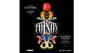 Exposition «Poison» du 10 octobre 2018 au 30 août 2019, au Palais de la Découverte.