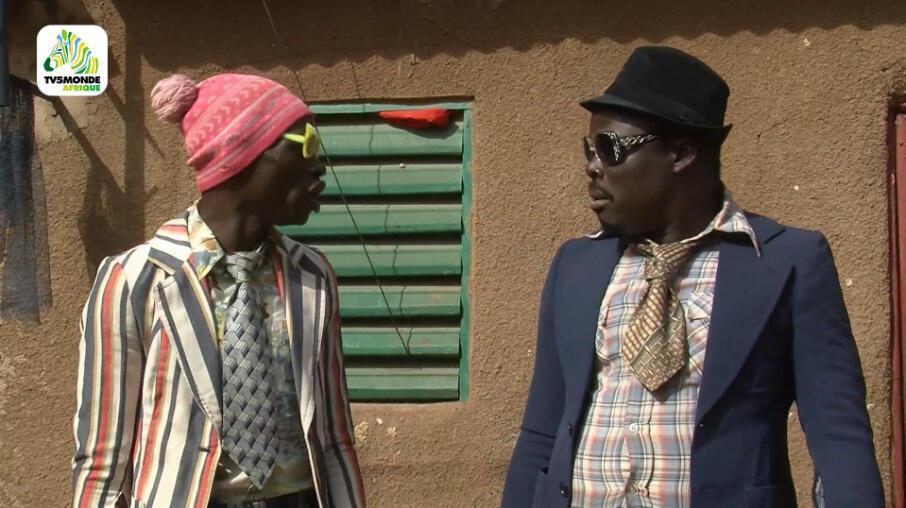 « Les Bobodiouf », série burkinabè produite par Côte Ouest et diffusée sur TV5 Monde Afrique.