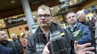 有可能成為芬蘭下屆政府總理的尤哈·西皮萊(Juha Sipilä)