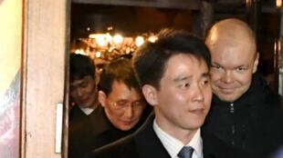 Vụ phó vụ Bắc Mỹ, bộ Ngoại Giao Bắc Triều Tiên, ông Choe Kang Il, tại Helsinki, Phần Lan. Ảnh ngày 19/03/2018