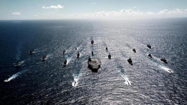中美海上较量 中国战舰多超美国战舰37艘(photo:RFI)