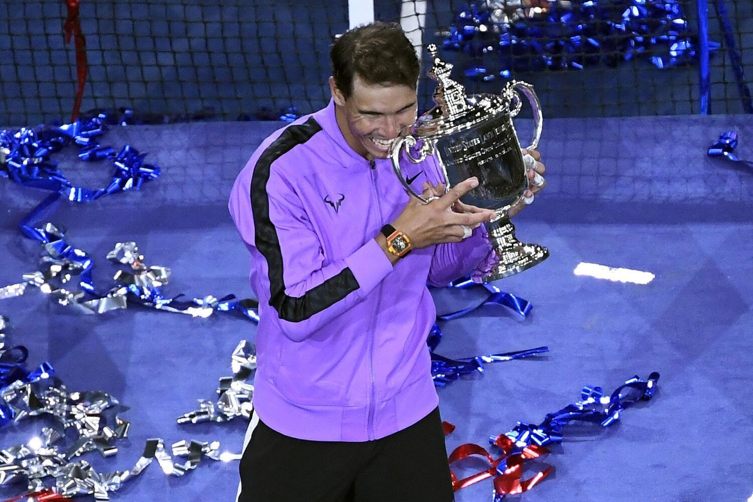 Rafael Nadal fought off the challenge of Daniil Medvedev to claim the US Open for a fourth time.