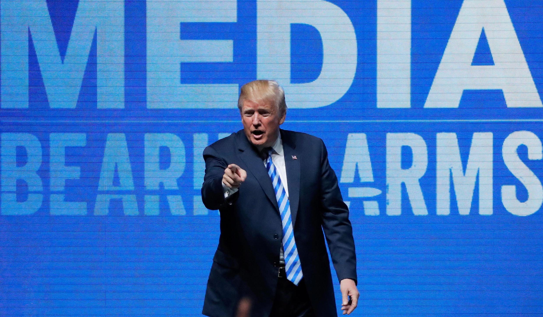 """سخنان دونالد ترامپ در مقابل """"انجمن ملی سلاح آمریکا"""". جمعه ۱۴ اردیبهشت/ ۴ مه ٢٠۱٨"""