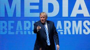 Tổng thống Mỹ Donald Trump phát biểu tại hội nghị của NRA, Texas, ngày 04/05/2018