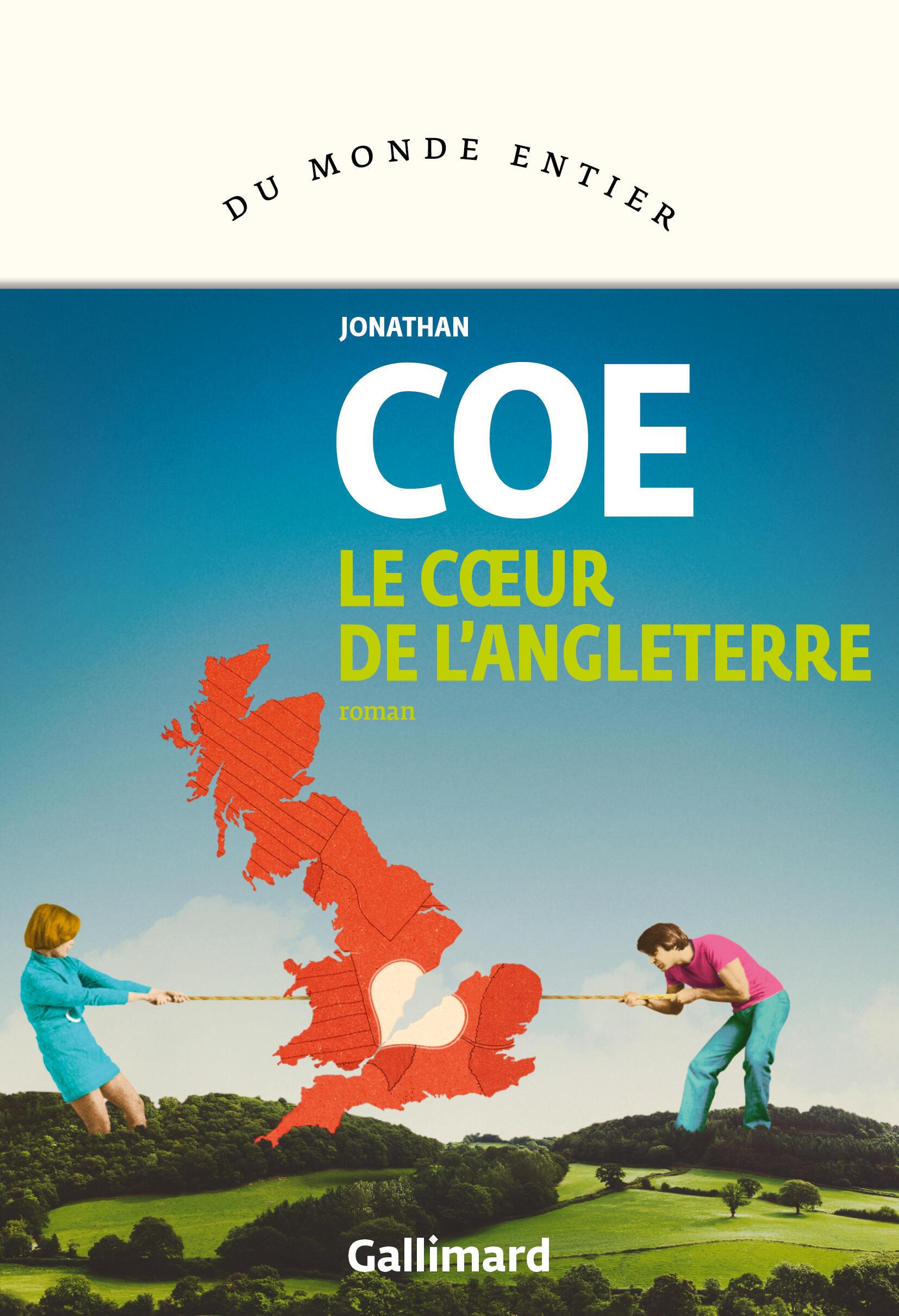 Couverture française du roman de Jonathan Coe