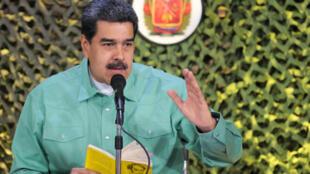 Президент Венесуэлы Николас Мадуро отказывается допустить в страну гуманитарную помощь