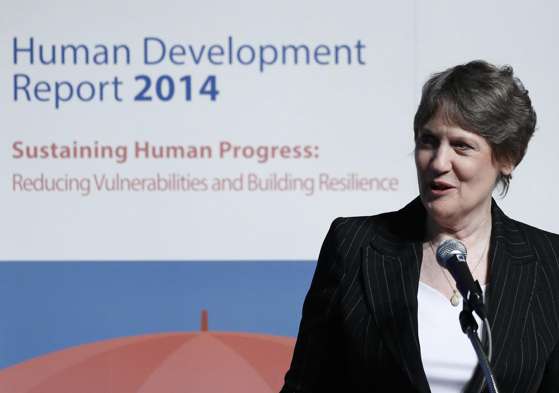 លោកស្រី Helen Clark ប្រមុខដឹកនាំអង្គការ UNDP