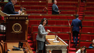 French health minister Agnès Buzyn introducing the controversial bioethics bill in the National Assembly.