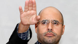 Muamer Kadhafi's son, Saif al-Islam.